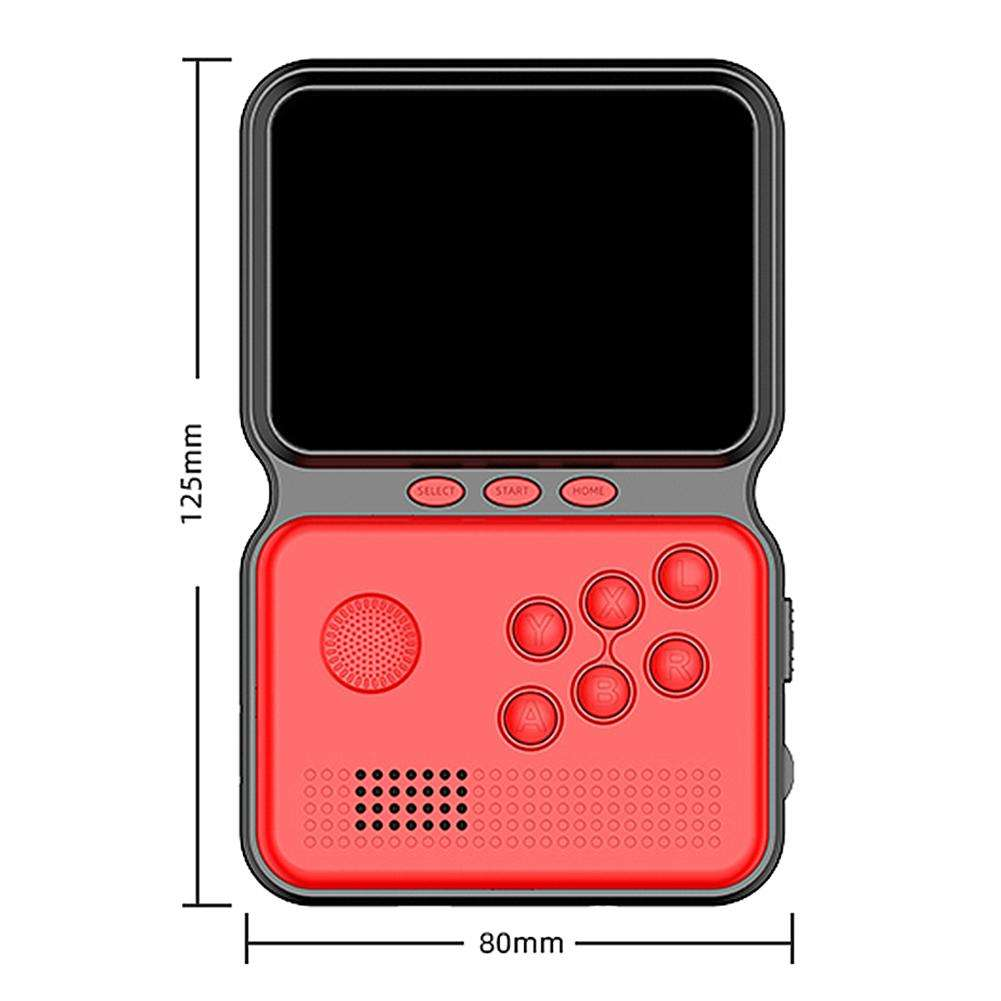 "Handheld Game Console Nostalgic Arcade Small Portable Card King of Fighters 3.5"" Retro Game Console 8 Bit Video Games"