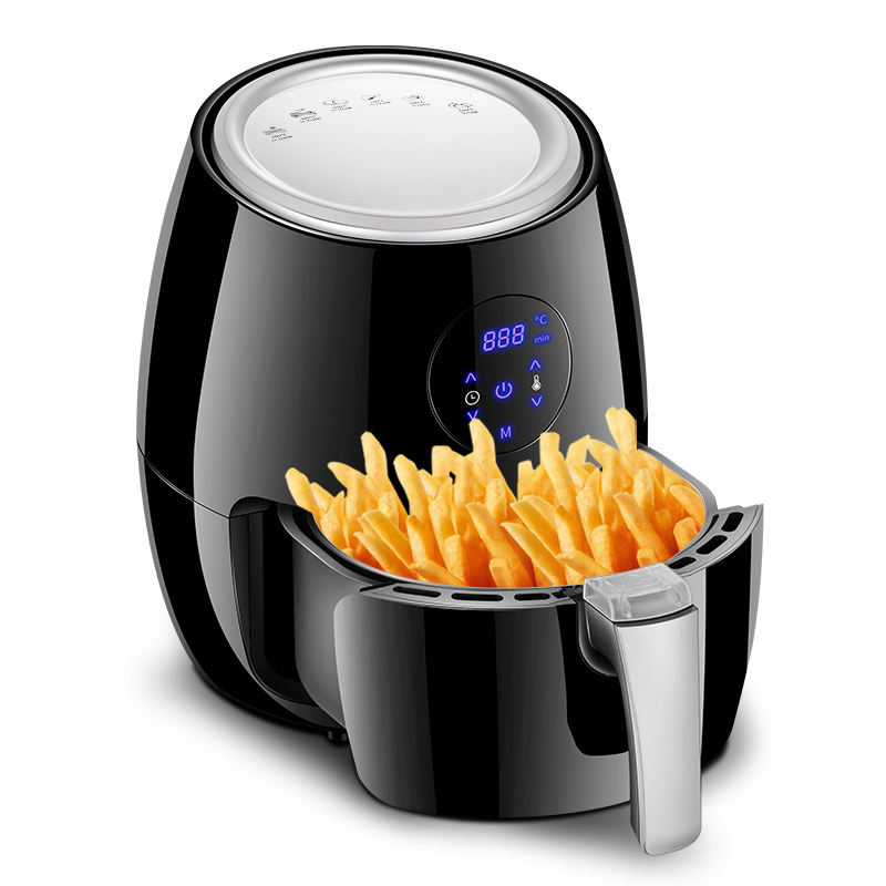 Amazon hot sale electric 4L deep mini hot air fryer with low price