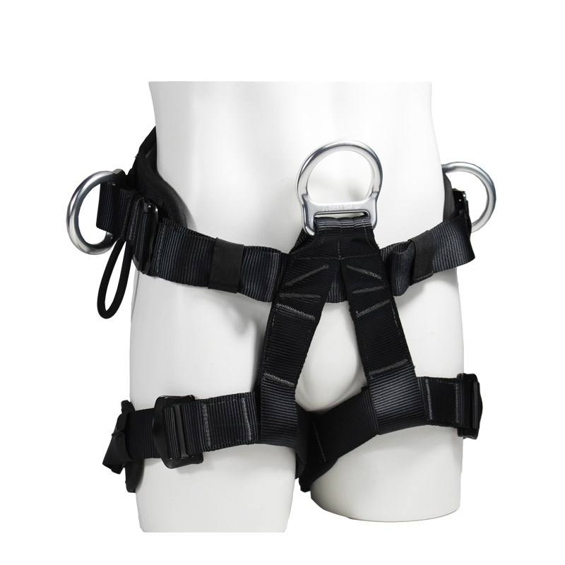 High Quality Wholesale Custom Cheap outdoor climbing safety harness new arrival super-light mountain supplier