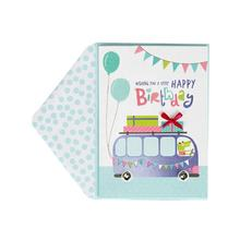 High Quality Congratulation Lovely Kids Birthday Cards, Holo Foil Custom Printing Greeting Cards