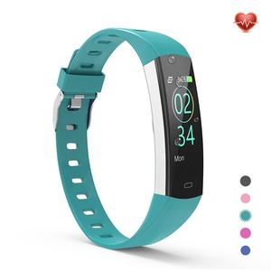 Fitness Thermometer Temperature Heart Rate Blood Pressure IP68 Waterproof Smart Band Smart Bracelet Watch