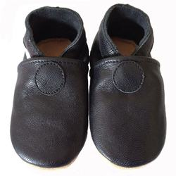 Black Baby Shoes Newborn Baby Shoes Soft Sole