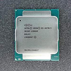 2.5ghz turbo 3.1ghz 12c/24tプロセッサーlntel xeon E5-2678v3 cpu