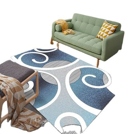 Soft Indoor Modern Area Rugs Fluffy Living Room Carpets Suitable for Children Bedroom Home