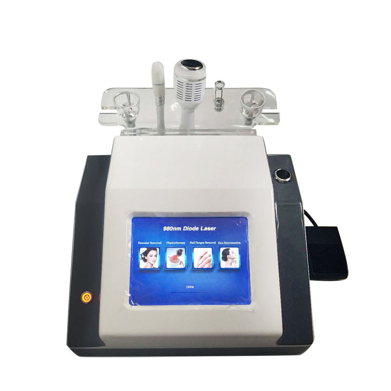 Yting 4で1 980 nm Diode Laser Physical Therapy Spider Vein Vascular Removal Salon Use Beauty Machine