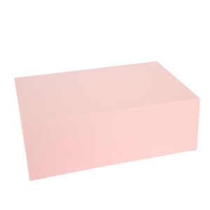 Recyclable portable in stock magnetic foldable gift paper packaging boxes