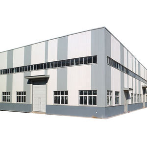 china modern light prefab warehouse steel structure