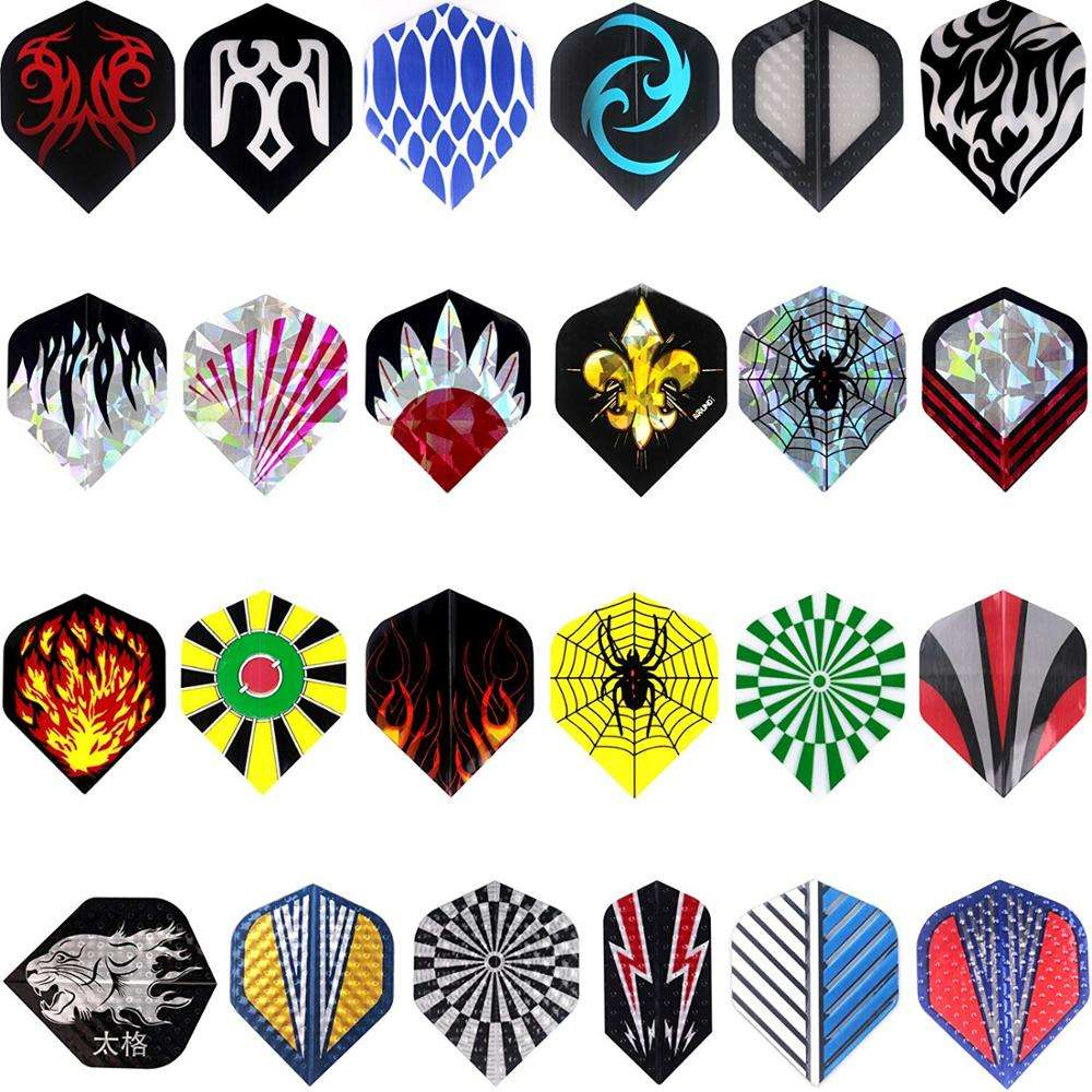 Professional Dart Flight Custom design/logo Laser feather dart flights