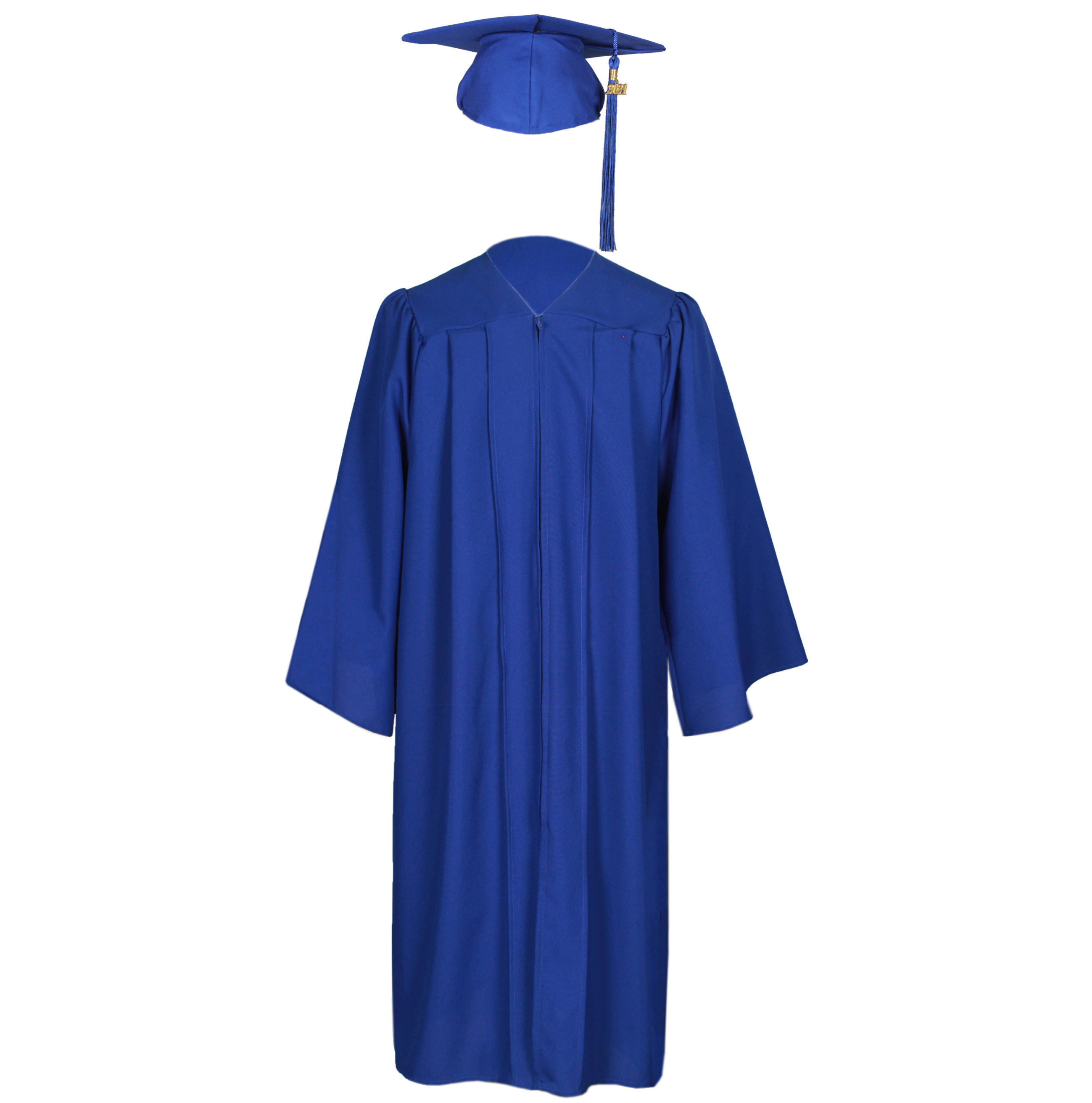 graduation gown graduation gowns Royal Blue graduation hats and gowns with tassel and year charm