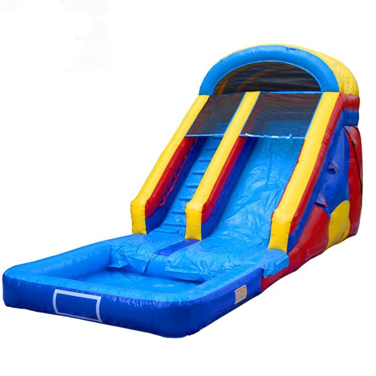 Custom Large Kids Jumping Jumbo Inflatable Bouncer Water Slip n Slide Toys Combo With Pool for Sale