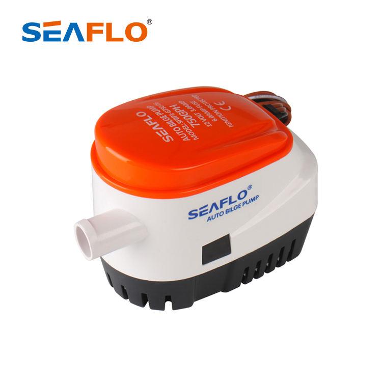 ISO8846 manufacturer price seaflo solar mini micro submersible sea marine boat 750gph 24v 12v dc motor automatic bilge pump