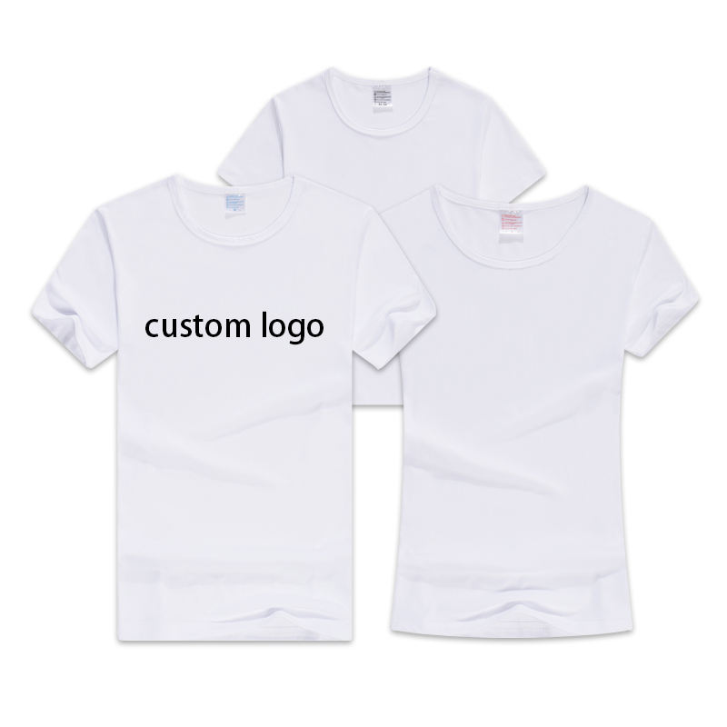 Cheapest in bulk custom logo graphic dtg digital print on demand service 3d embroidery premium kids men women t shirt with label