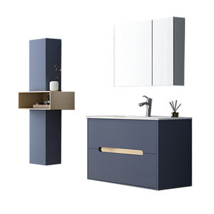 2020 top sale customized popular blue modern bathroom vanity