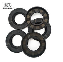 Doule Lip FKM FPM Rubber Oil Seals with Spring
