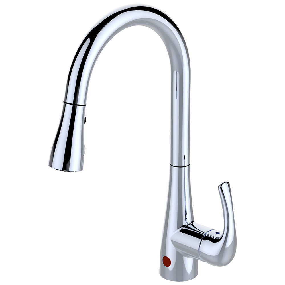 High Quality Sensor Touchless with Pull Down 3 Function Spray Head Kitchen Faucet