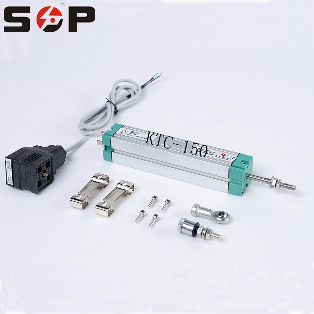 SOP KTC CE 150mm 5K ohm High Accuracy Transducer Resistive Displacement Rod Pull Potentiometer Resistance Linear Position Sensor