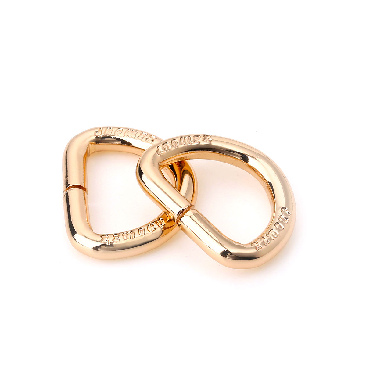 Hot sell Customized Metal D Ring For Handbags High Quality Hardware Metal D Ring Buckle Leather Bags Metal Fittings