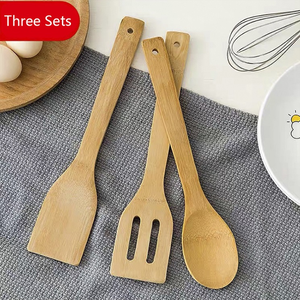 Wholesale 6 7pcs Nonstick Bamboo Wooden Cooking Tools Teak Wood Ladles Spoons   Spatula Set for Kitchen