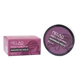 Melao Super hard black hair dye best edge control good feedback free sample custom non-greasy