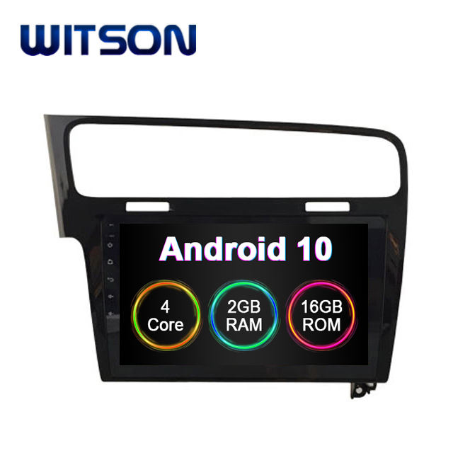 Witson Android 9.0 Mobil Video Radio DVD Player untuk VW Golf 7 2013-2015 Mobil Audio Bluetooth