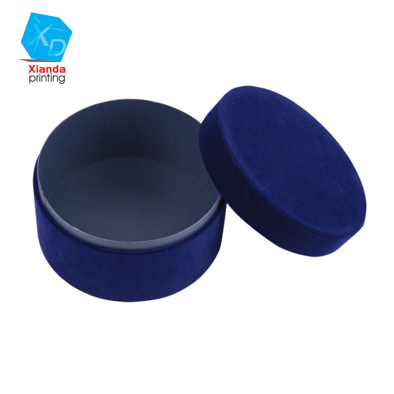 Round flower box can be customized size color printing logo factory direct sales