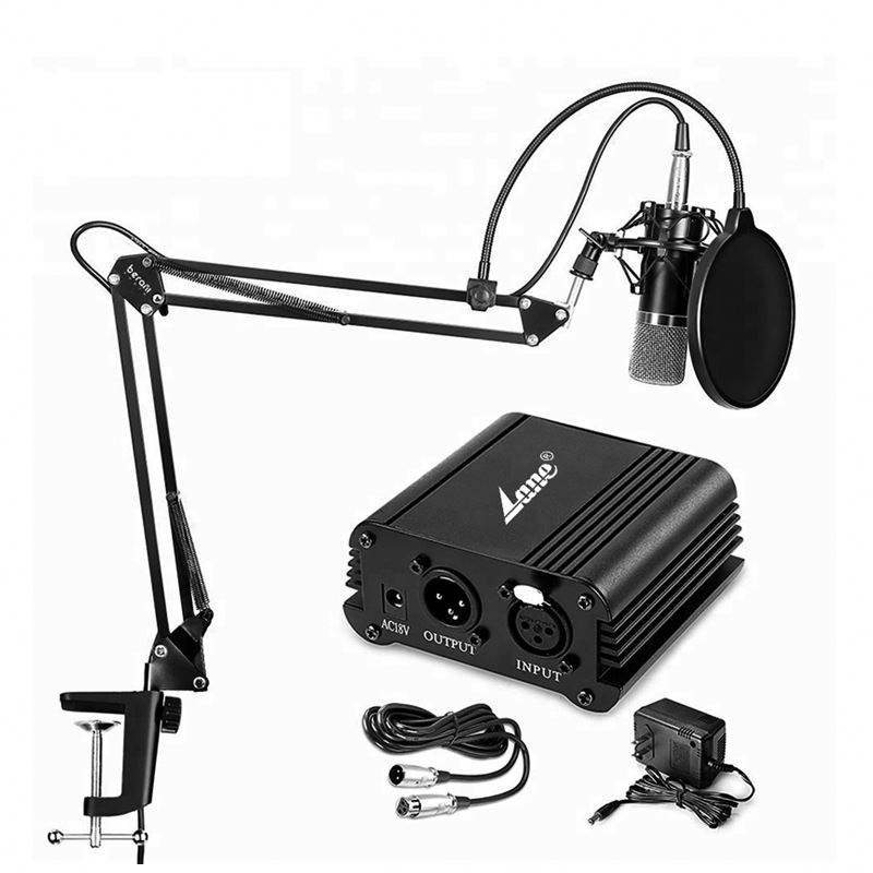 Super Mini High Sensitivity Electret Condenser Microphone With Wire
