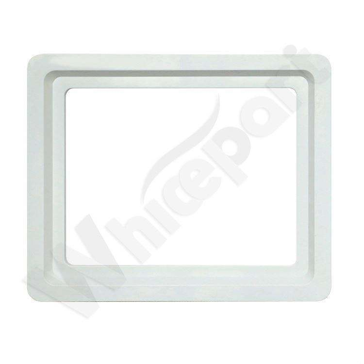 Popular for the market Excellent Quality Plastic Chest Freezer parts glass door with abs whole injection profile frame F008