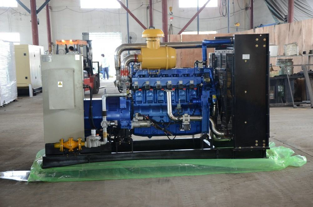 Generator Gas Sawdust Combustion Gasifier And Gas Generator Set
