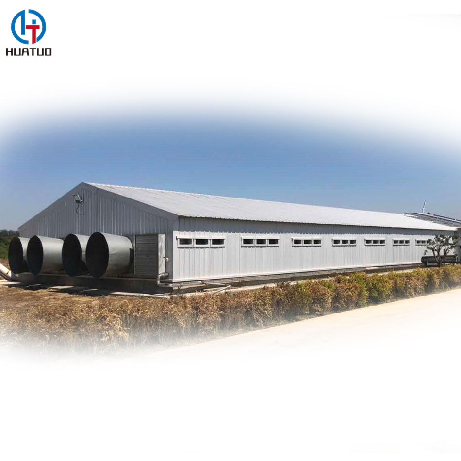 Prefab metal building house sheds steel structure cattle farm cow shed