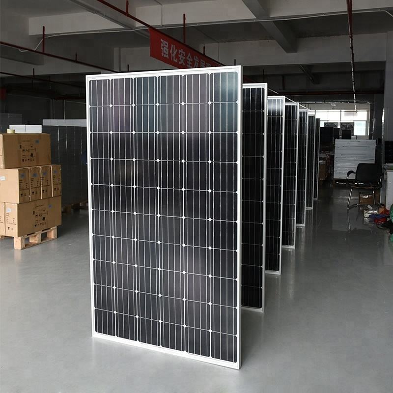 Factory direct sale 350w solar panel 350 watt monocrystalline paneles solares