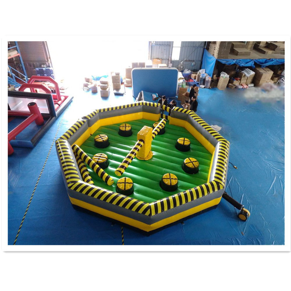 Inflatable Meltdown Mechanical Rotating Obstacles Games