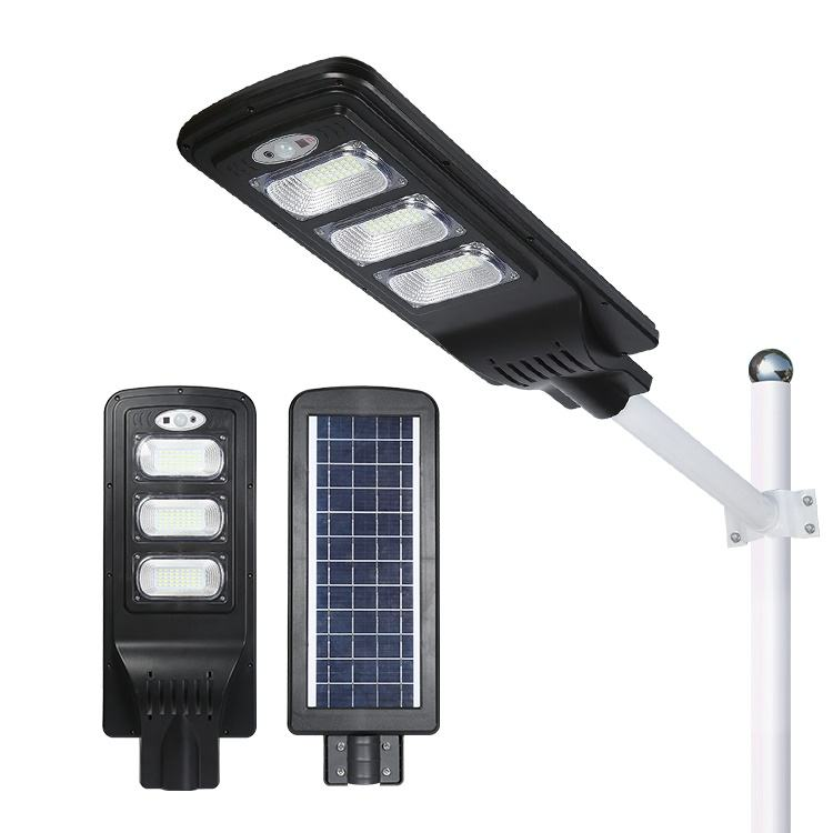 HUAPAI CE Rohs 20w 40w 60w 80w smd Outdoor IP65 waterproof all in one solar led street light