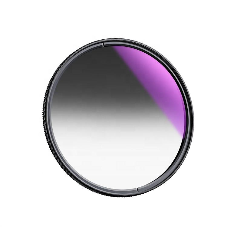 K & F Concept Optical Glass 3 stop Camera Gnd8 Filter 0.9 Soft Graduated ND Filter