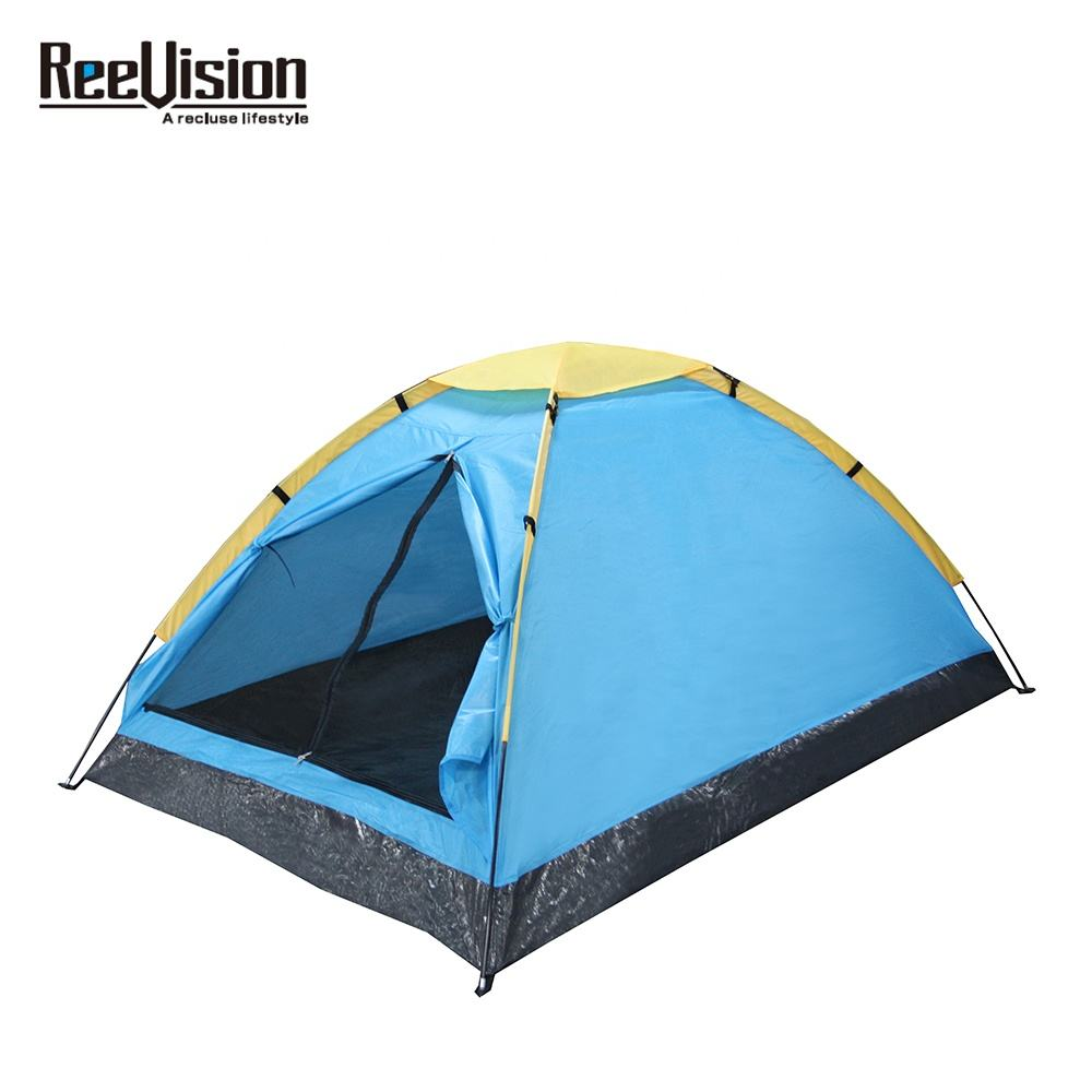 Reevision New Beach Outdoor Waterproof Hiking Family Leisure Traveling Canvas Camping Park Tent