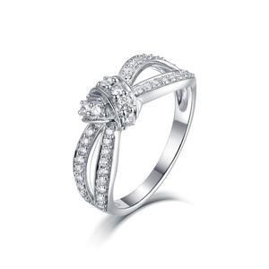 Sunstar Custom Gold Jewelry 18K 14K 9K Diamond Ring Wedding Band for Women