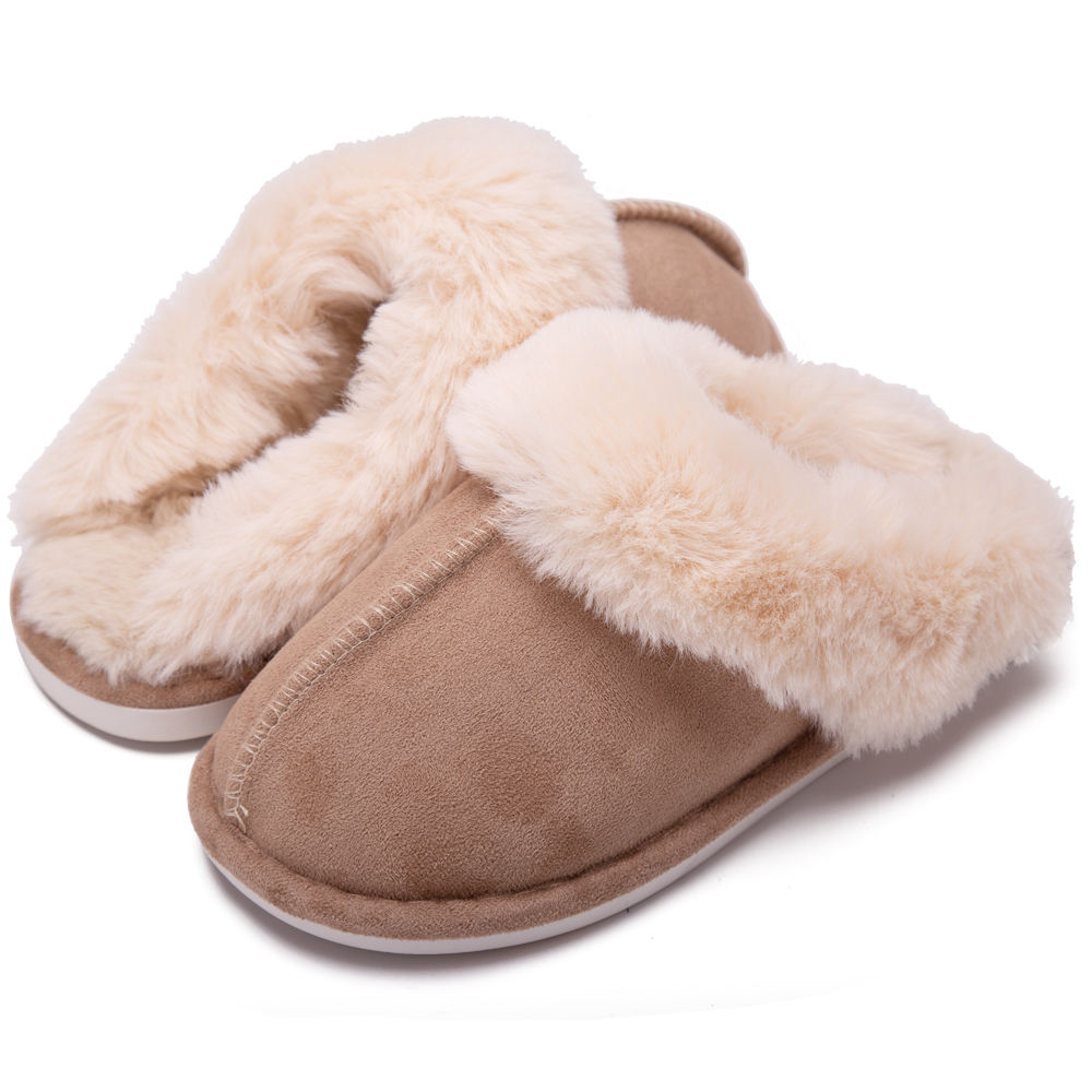 Mannen Originele Twee-Tone Memory Foam Slipper Indoor Slipper Warm Slipper