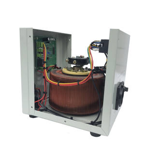 Kualitas Tinggi Up Transformer Regulator Power Supply 3 Phase Voltage Stabilizer 10KVA Single Phase Servo Voltage Stabilizer