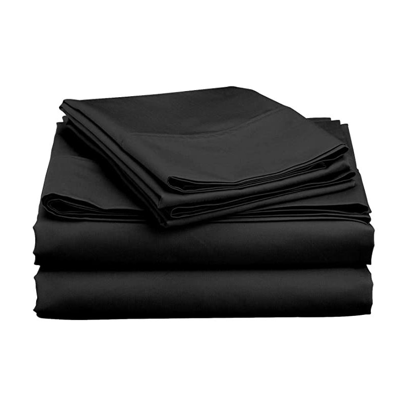 4 Pieces Soft,Breathable Bed cover, Wrinkle & Fade Resistant Sheet & Pillowcases,Fitted Sheet with Deep Pockets bed sheet sets