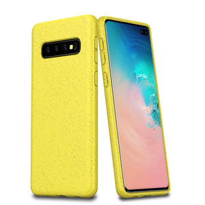 New Product 100% Biodegradable Flexible TPU Compostable Protection Case for Samsung Galaxy S10 Plus