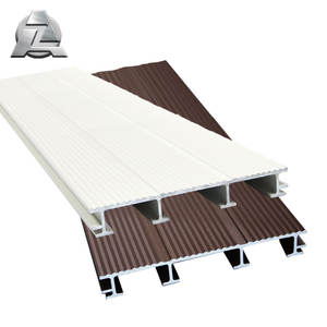 Factory price bond strength aluminium extruding floor plank interlocking flooring