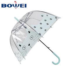 Dome Transparent Cheap Clear Custom Bubble Apollo Umbrella for Summer Sports  Travel Outdoor