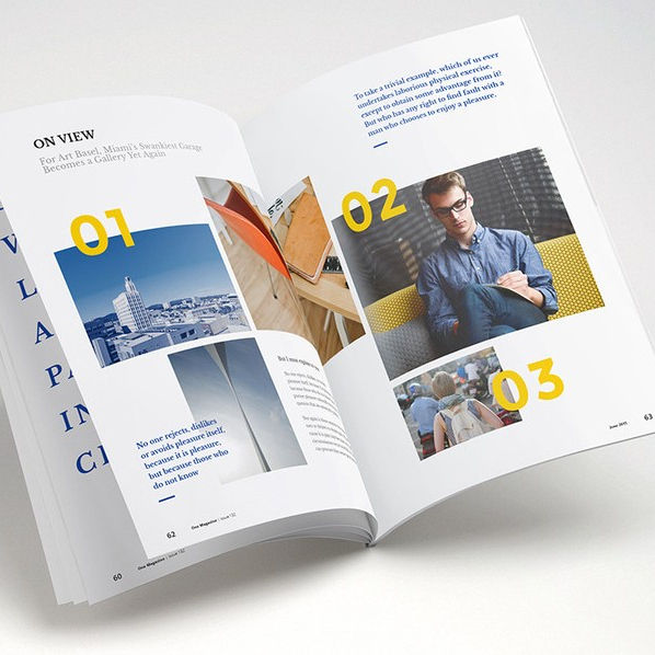 Fancy brochure / flyer design