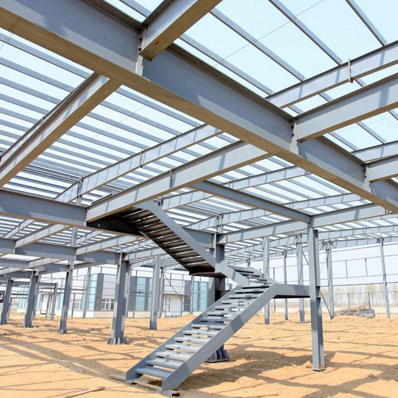 workshop building materials custom-made steel structure construction