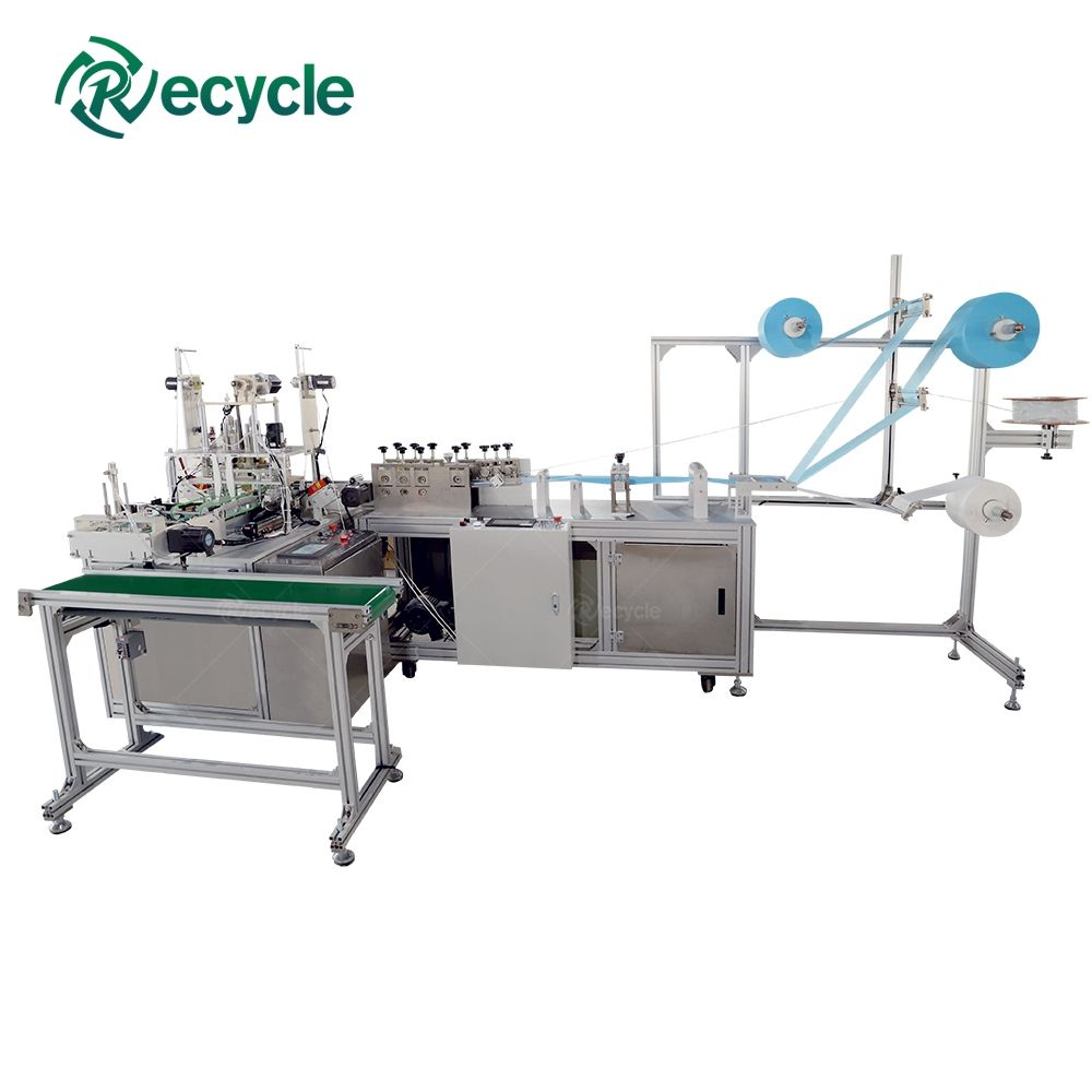 Easy Operation After-Sale Service Supported Face Mask Making Machine Automatic Mask Producing Line
