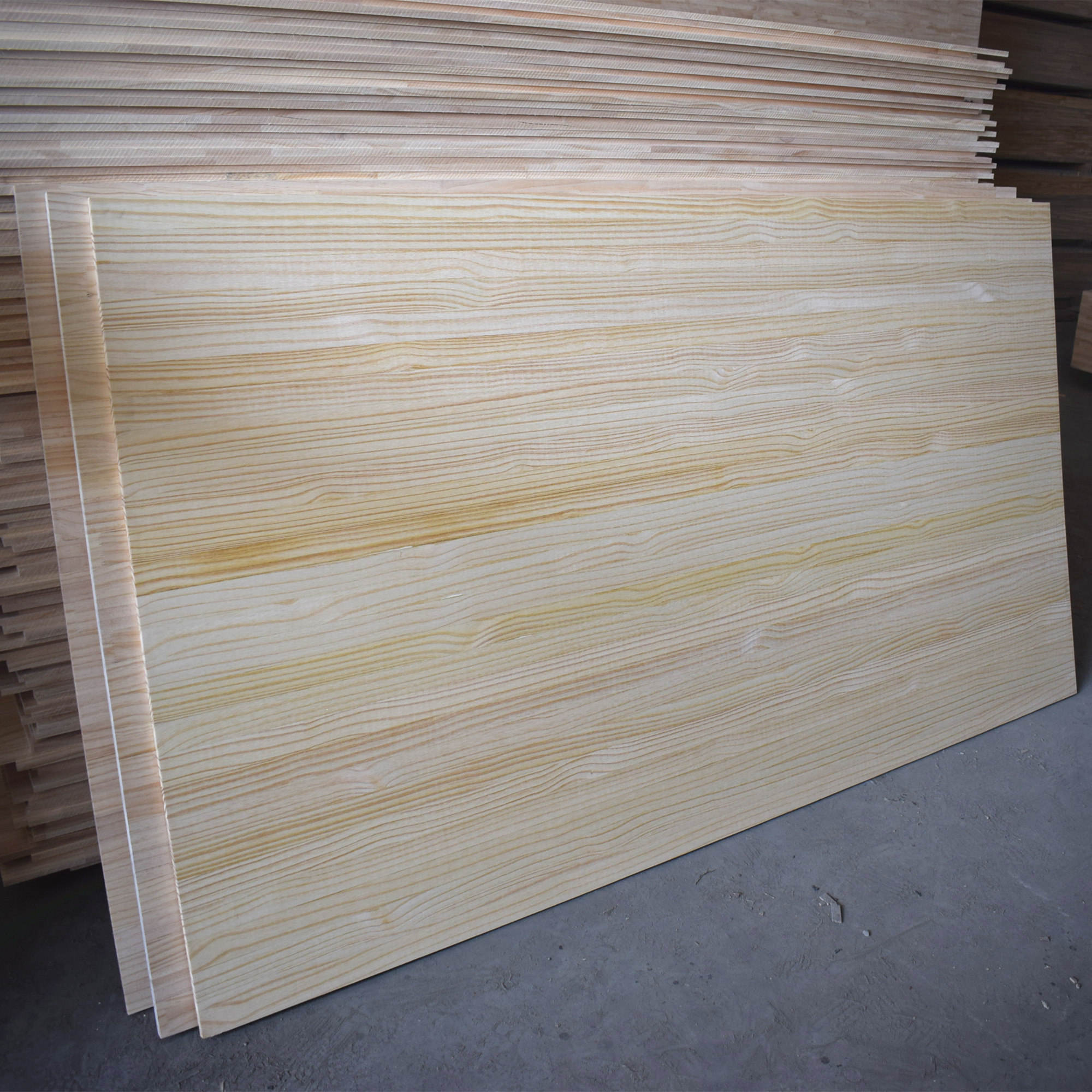 Solid Wood [ Lumber ] Solid Pine Wood High Quality Pine Lumber Solid Wood Timber Edge Glued Board Factory Direct Supplying For Wholesale