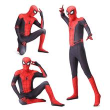 Hot Sales Super Hero Spiderman Costume Clothes for Kids Birthday Party Outifts Boys Halloween Spider-Man Bodysuit Cosplay Suits
