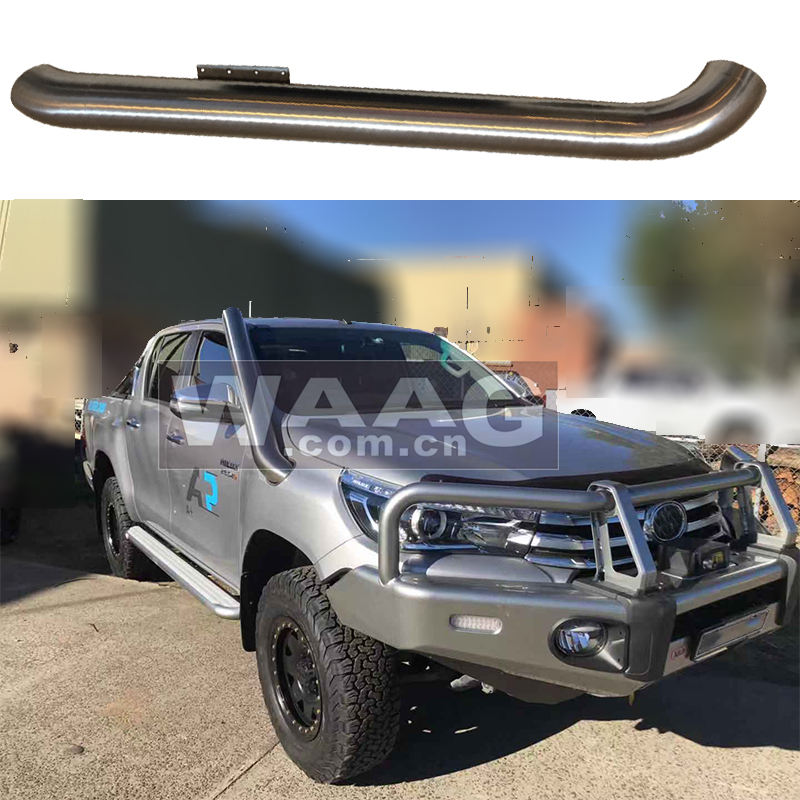 Stainless steel snorkel kit for toyota hilux 2011-2015 4x4 auto truck accessories