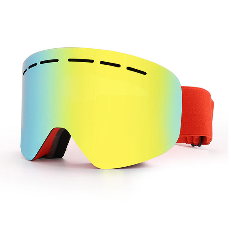 Glasses Goggles Wholesale Hot Models Ski Goggles Newest Anti-fog Goggles Colorful Ski Glasses