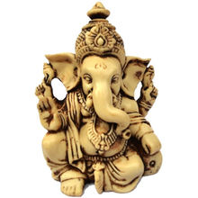 Aica Gifts Lord Ganesha Ganesh Ganpati Car Dashboard Idol Hindu Figurine Showpie