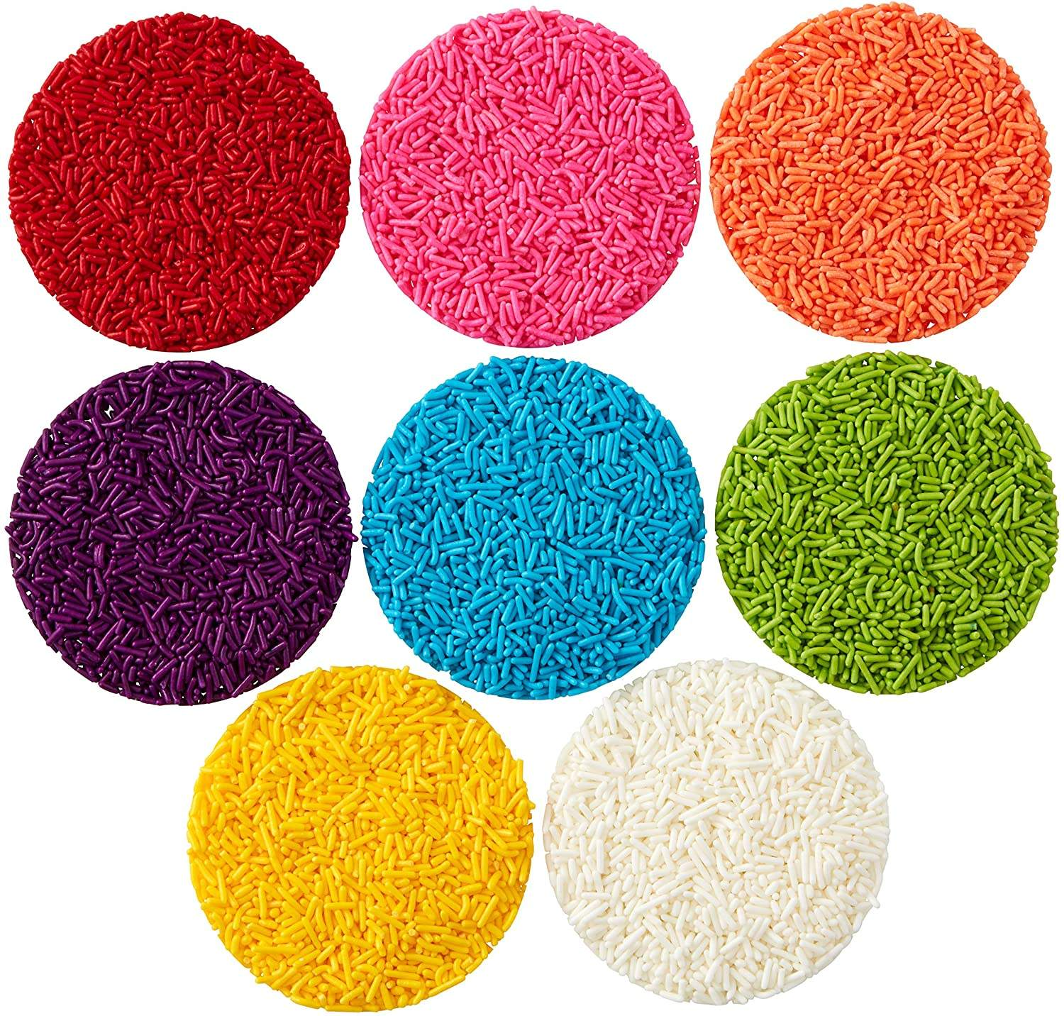 Solid Decoration Ingredients Mixes Wholesale Cake Sprinkles